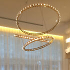 Retro Circle Chandelier Light Living Room Lighting Hallway Ceiling Pendant Lamp