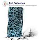 Leopard Leather Magnetic Card Stand Case Cover Fr Samsung Galaxy S10+S10e Note8