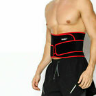 Double Pull Men's Back Support Adjust Band Lumbar Compression Lower Waist Brace