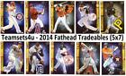 2014 Fathead Tradeables (5x7) Baseball Set ** Pick Your Team ** See Checklist on Ebay