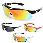 Unisex Cycling Bike Glasses Outdoor Sports Hiking Bicycle Windproof Sunglasses @