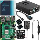 vilros raspberry pi 4 basic starter kit with fan cooled heavy duty aluminum case