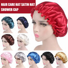 Kyпить Women Silk Feel Satin Bonnet Night Sleep Cap Elastic Hair Hat Wrap Head Cover US на еВаy.соm