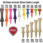 Masters CASTLE (Graduated) Golf Tee Tees Plastic - All Colours & Sizes