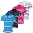 Bobby Jones Mens Rule 18 Tech Riviera Stripe Stretch Golf Polo Shirt 57% OFF RRP