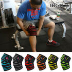 1-Knee Wraps Fitness Squats Knee Bandages Sports Training Equipment Accessories