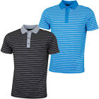 Bobby Jones Mens Rule 18 Tech Monte Carlo Stretch Golf Polo Shirt 57% OFF RRP
