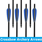6X 16-22Inch Carbon Crossbow Bolts Target Hunting Shooting Arrows Free Shipping