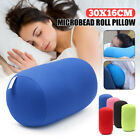 Microbead Roll Throw Pillow Travel House Bed Sofa Sleep Leg Neck Back Cushion image