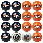 16 Piece NFL Football Pool Billiard Ball Set $360.3 USD on eBay