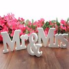 Kyпить 3Pcs/Set Mr and Mrs Wooden Letters Standing Sign for Table Top Wedding Decor на еВаy.соm