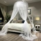 Bed Mosquito Net Hung Dome Princess Style Round Lace Curtain For Home   image