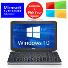"DELL LAPTOP LATiTUDE CORE 4GB-8GB 250GB-1TB HD SSD 15.6"" DVD WINDOWS 10 WiFi PC"