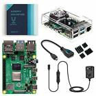 Raspberry Pi 4 Basic Kit with Fan Cooling Case 1, 2 or 4 GB