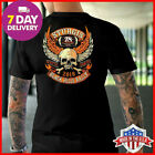 Sturgis Vintage T-shirt Harley Davidson Motorcycle Eagle T-Shirt Cotton All Size $14.99 USD on eBay