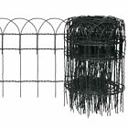 New Garden Border Fence Lawn Edging Protective PVC Coated Wire 10m 25m 4 Sizes