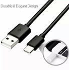 For Samsung S10 S8 OEM 6Ft Type C USB C Cable Fast Charging Quick Charger Cord