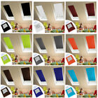 Blackout Blind Curtains Suction Cup Thermal for Velux Roof Anti-UV Window 9Color