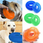 Pet Dog Chew Squeaky Toy Bite-Resistant Trainer Ball Rubber Clean Teeth Toys