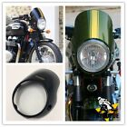 For Triumph Bonneville T100 T12 Headlight Cafe Racer Flyscreen Surround $99.8 USD on eBay