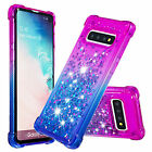 For Samsung Galaxy S8 S9 S10+ Note 10 Pro Phone Case Glitter Soft Rubber Cover