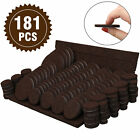 Lot Floor Protectors Chair Table Leg Pads Felt Craft Adhesive Furniture Grippers