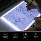 A5 LED Art Stencil Board Light Box USB Tracing Drawing Table Adjustable Pad CO