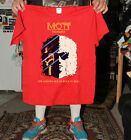 NEW rare - T shirt - Mott The Hoople Golden Age Of Rock & Roll red - top gildan image