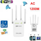 1200Mbps WiFi Extender Repeater Signal Booster Wireless Router Range Network