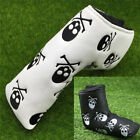 Golf Putter Head Cover Mallet Velco Blade Club Headcovers PU Skull Ping Gift UK