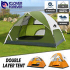 Kyпить 3-4 Person Camping Tent Double Layer Waterproof Hiking Beach Backpacking Shelter на еВаy.соm