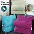 Adjustable Back Wedge Cushion Sofa Pillow Bed Office Chair Rest Neck Support US image