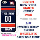 NEW YORK GIANTS PERSONALIZED PHONE CASE FOR iPHONE 11 SAMSUNG A20 10e GOOGLE LG $26.98 USD on eBay