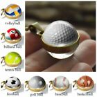 New Double Sided Glass Ball Sport Classic Pendant Necklace Chain Jewelry Gifts $3.85 CAD on eBay
