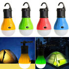 3LEDs Portable Camping Tent Lights Bulb Outdoor Hanging Fishing Lantern Lamps US