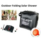 20/40L Portable Shower Heating Pipe Bag Solar Water Heater Outdoor Camping Camp