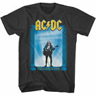 ACDC Who Made Who T Shirt Mens Licensed Rock N Roll Music Band Retro New Black image
