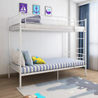 Single Metal Bunk Bed Frame 2 Person for Adult Children Kids Home Furniture