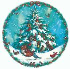 Christmas Tree Nature Snow Animals Select-A-Size Waterslide Ceramic Decals Xx image