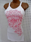 nwt HARLEY DAVIDSON *Sweet Ride* Pink B&S Scroll Bra Tank Top Shirt $34.99 USD on eBay