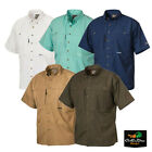 Kyпить DRAKE WATERFOWL COTTON WINGSHOOTERS SHIRT WITH STAY COOL FABRIC SHORT SLEEVE на еВаy.соm