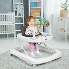 Baby Music & Lights Activity Walker with Musical Tray & Lights Adjustable Height