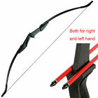 57in. 30/40 lbs Archery Takedown Recurve Bow Right Left Hand Hunting Target NEW