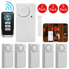 Wireless Control Magnetic Sensor Door Window House Security Burglar Alarm White