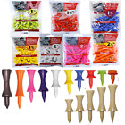 Castle Golf Tees Tee Masters Plastic or NATURAL WOOD Wooden  - Excellent Quality