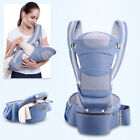 Ergonomic Infant Baby Carrier with Hip Seat Stool Adjustable Wrap Sling Backpack for sale  Shipping to South Africa