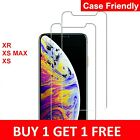 Gorilla Tempered Glass Screen Protector for New iPhone XR XS Max XS X
