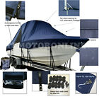SeaVee 320 Center Console Fishing T-Top Hard-Top Boat Storage Cover