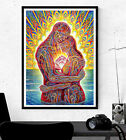 Alex Grey Poster - Couple - Psychedelic Art - Various Sizes #Charity
