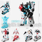 HZX 6 IN 1 Defensor & Bruticus & Superion Devastator Sets IDW Toy Action Figure